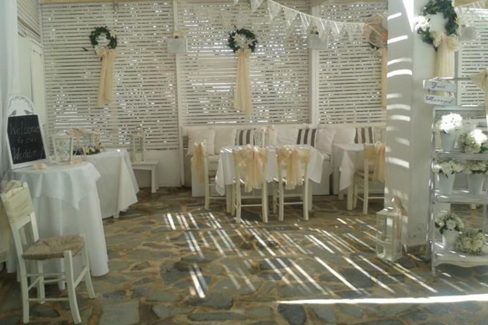 Aphrodite Wedding Decor
