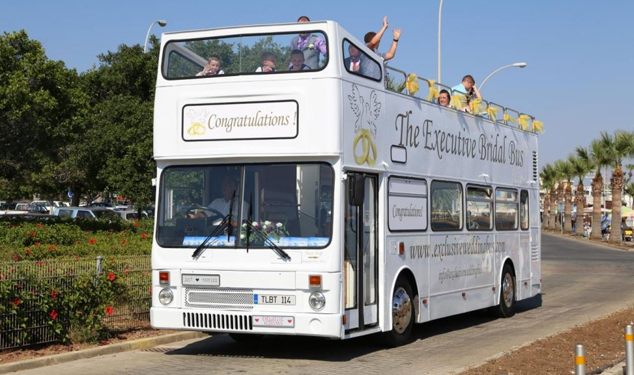Exclusive Wedding Bus