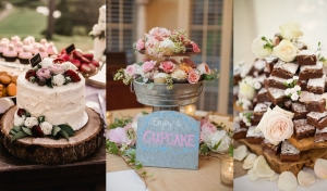 Who Loves a Wedding Dessert Table?