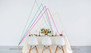 Wedding Trend Watch: Geometric